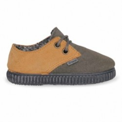 DOGMA LOW KIDS GREY/MUSTARD