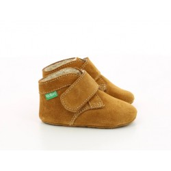 Slippers KICKCHO FUR camel