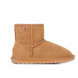Botas australianas de ante y merino Wallaby Mini Chestnut
