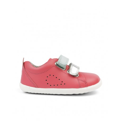 STEP UP. GRASS COURT SWITCH Guava/silver
