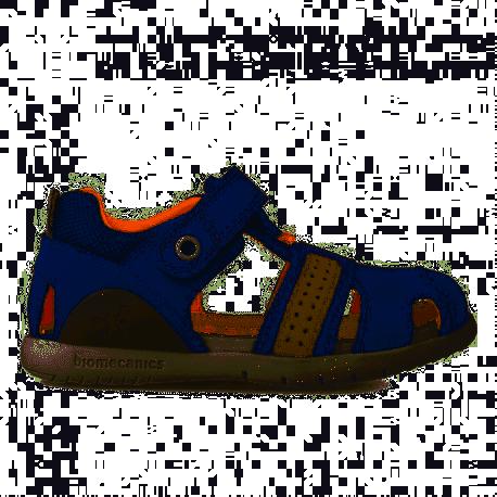 Sandalia de piel Petrol