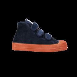 BOTIN Star Dribble Kid Velcro Pana Navy/Orange