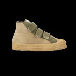 BOTIN Star Dribble Kid Velcro Pana beige/Military