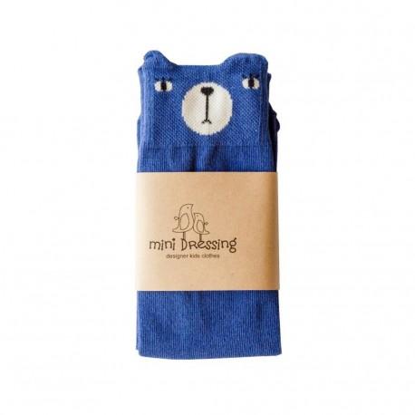 Calcetines Mini Dressing Oso Azul